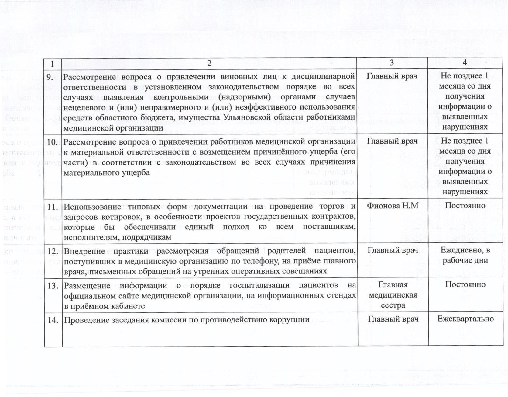 План работы по противодействию коррупции на 2018 год 002